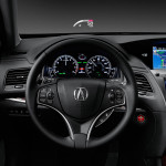 2017 Acura RLX Head-Up Display