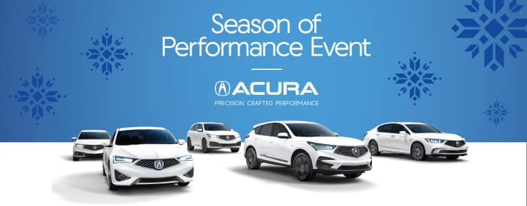 2019 Acura Season of Performance Event from your Michigan Acura Dealers