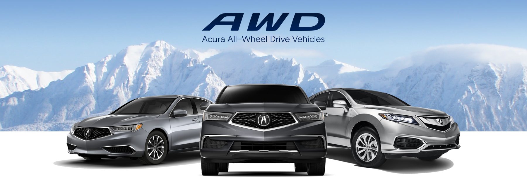 Acura All-Wheel Drive Vehicles