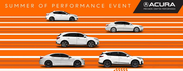 Acura Summer of Performance Event at your Michigan Acura Dealers