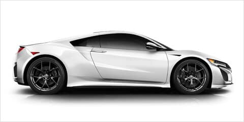 2018 Acura NSX Side Profile Design