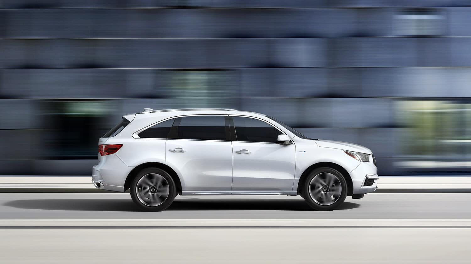2019 Acura MDX Exterior Side Profile Drive