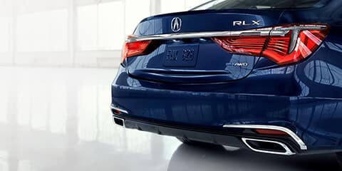 2019 Acura RLX Striking Rear Design