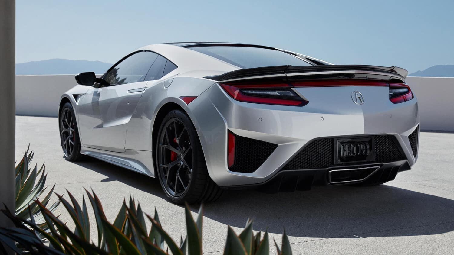 2019 Acura NSX Exterior Rear Angle Driver Side