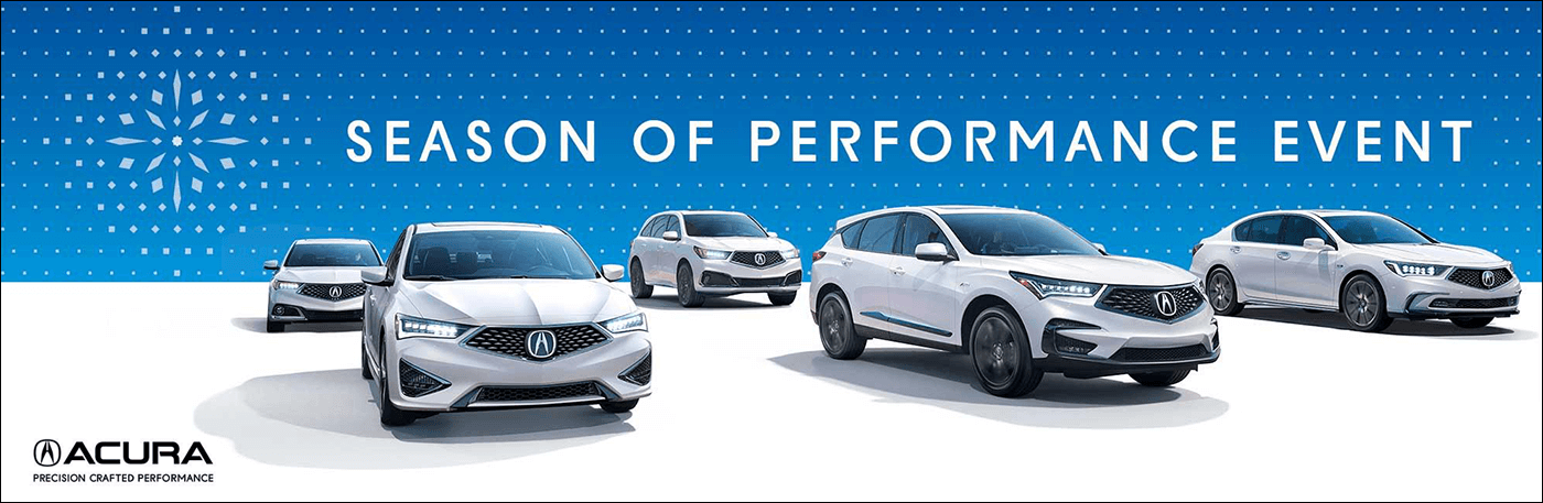 2018 Acura Season of Performance Event from Your Michigan Acura Dealers