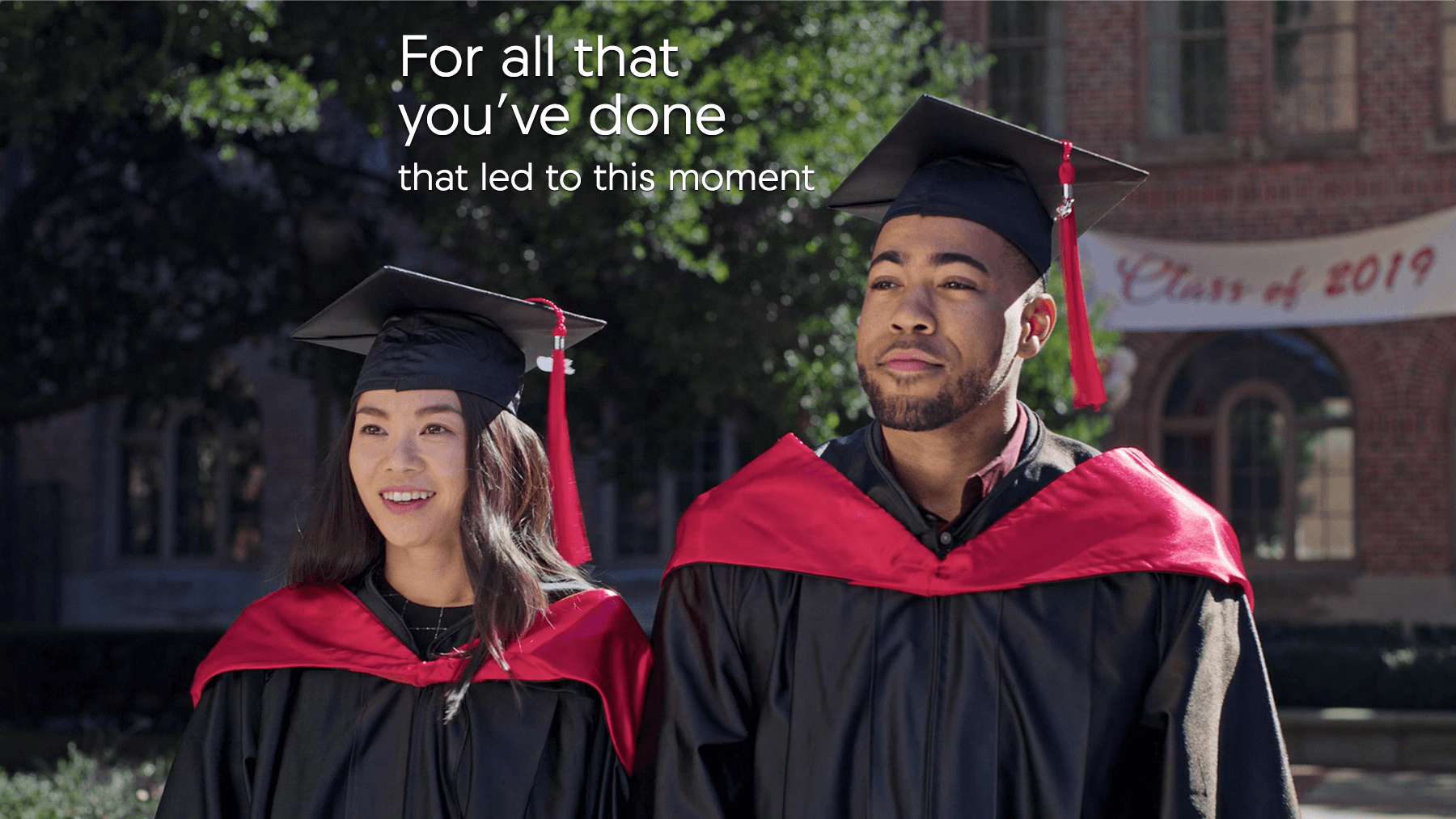 Acura College Graduate Program Graduation Moment Graphic