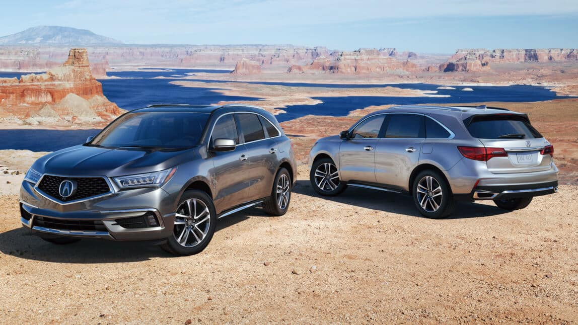 2020 Acura MDX Exterior Multi-Vehicle Desert Location