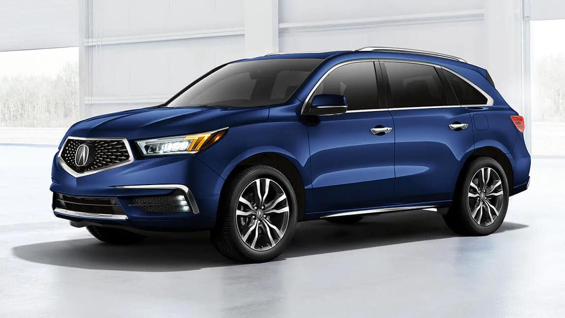 2020 Acura MDX Exterior Front Angle Driver Side Warehouse Location