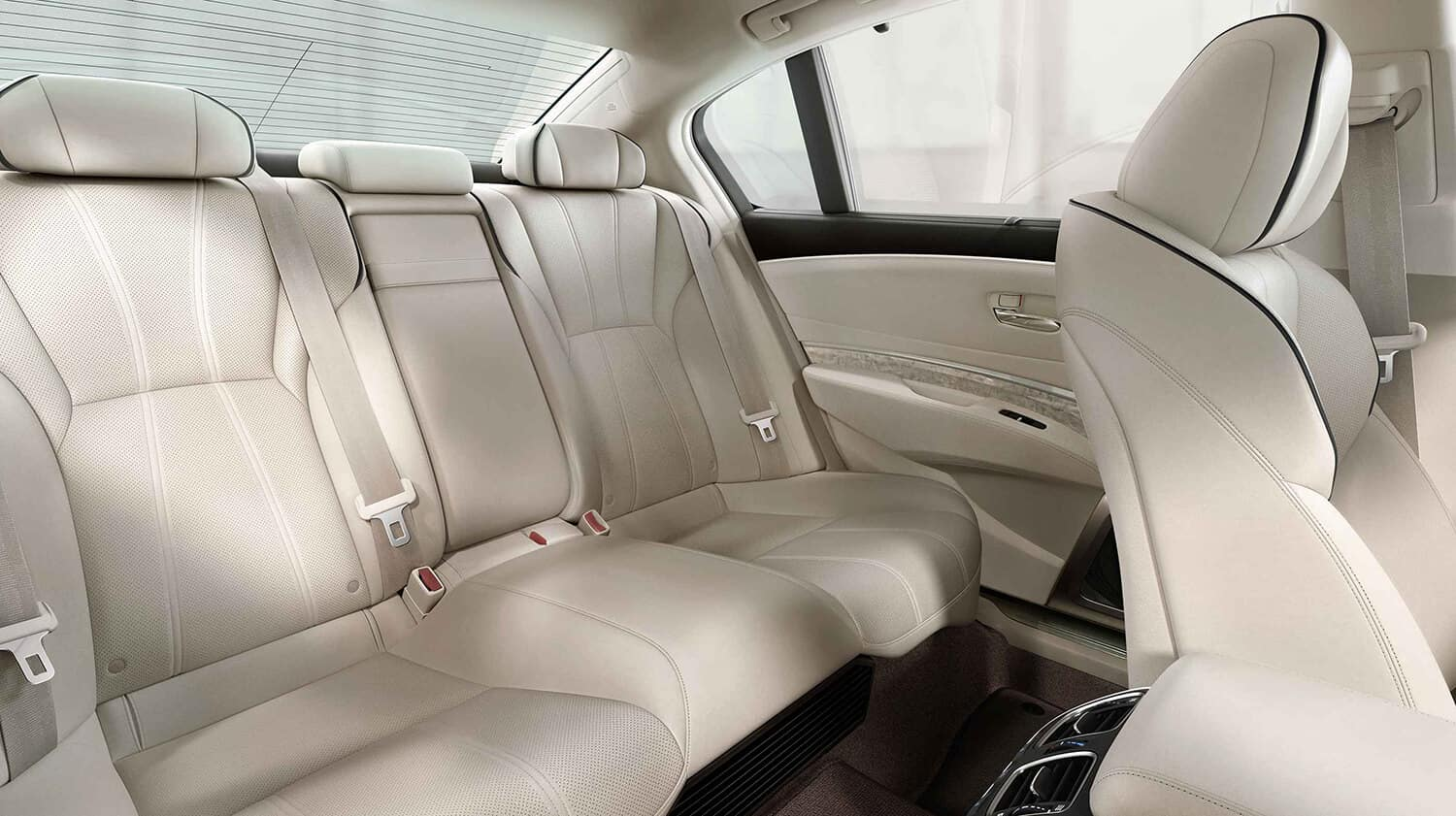 2020 Acura RLX Interior Rear Seating