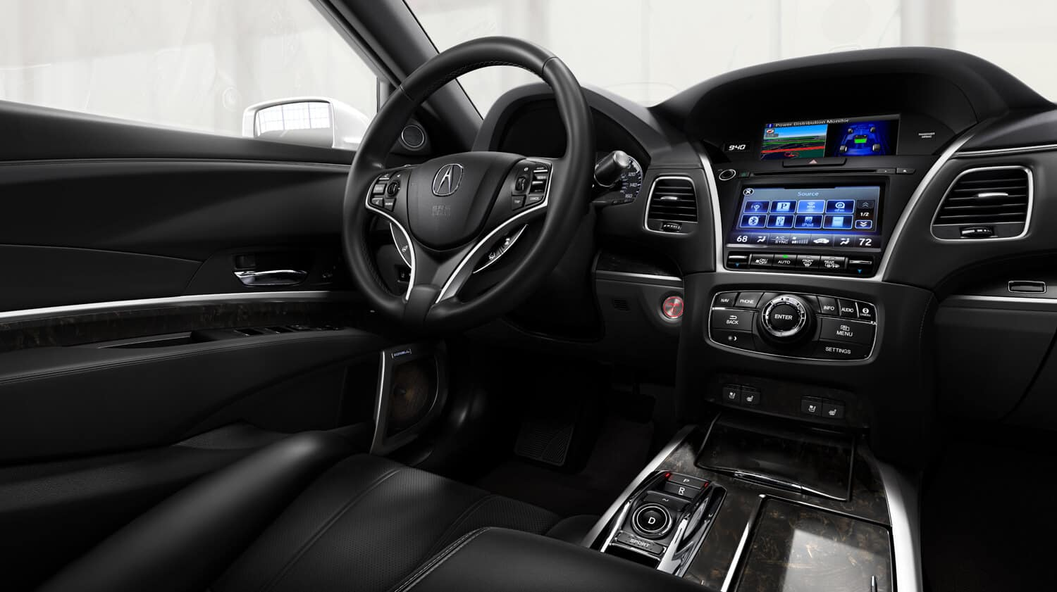 2020 Acura RLX Interior Cockpit Passenger Side