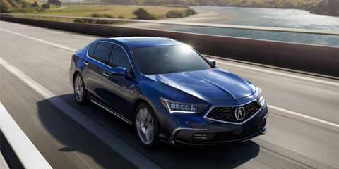 2020 Acura RLX GPS-Linked Climate Control