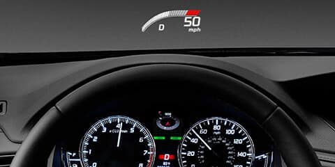 2020 Acura RLX Head-Up Display