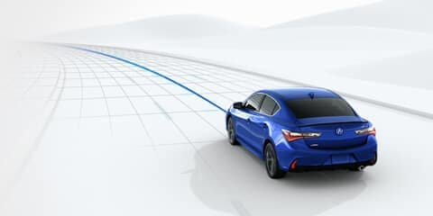 2020 Acura ILX Lane Keeping Assist System
