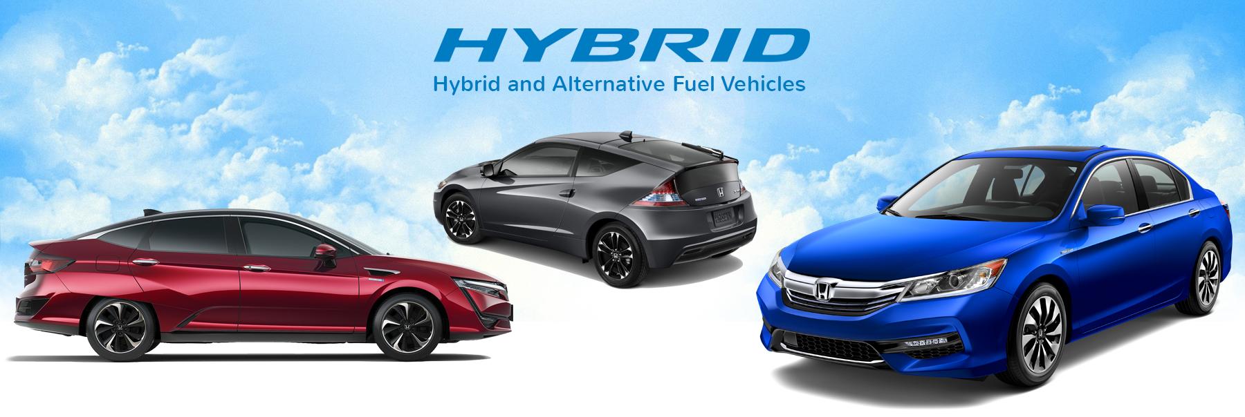 Honda Hybrid and Alternative Fuel Vehicles