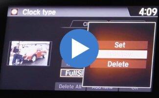 2017 Honda HR-V Customizable Display Screen