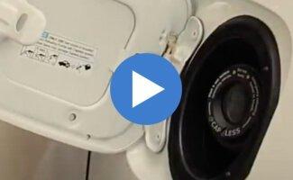 2017 Honda Pilot Capless Fuel Tank