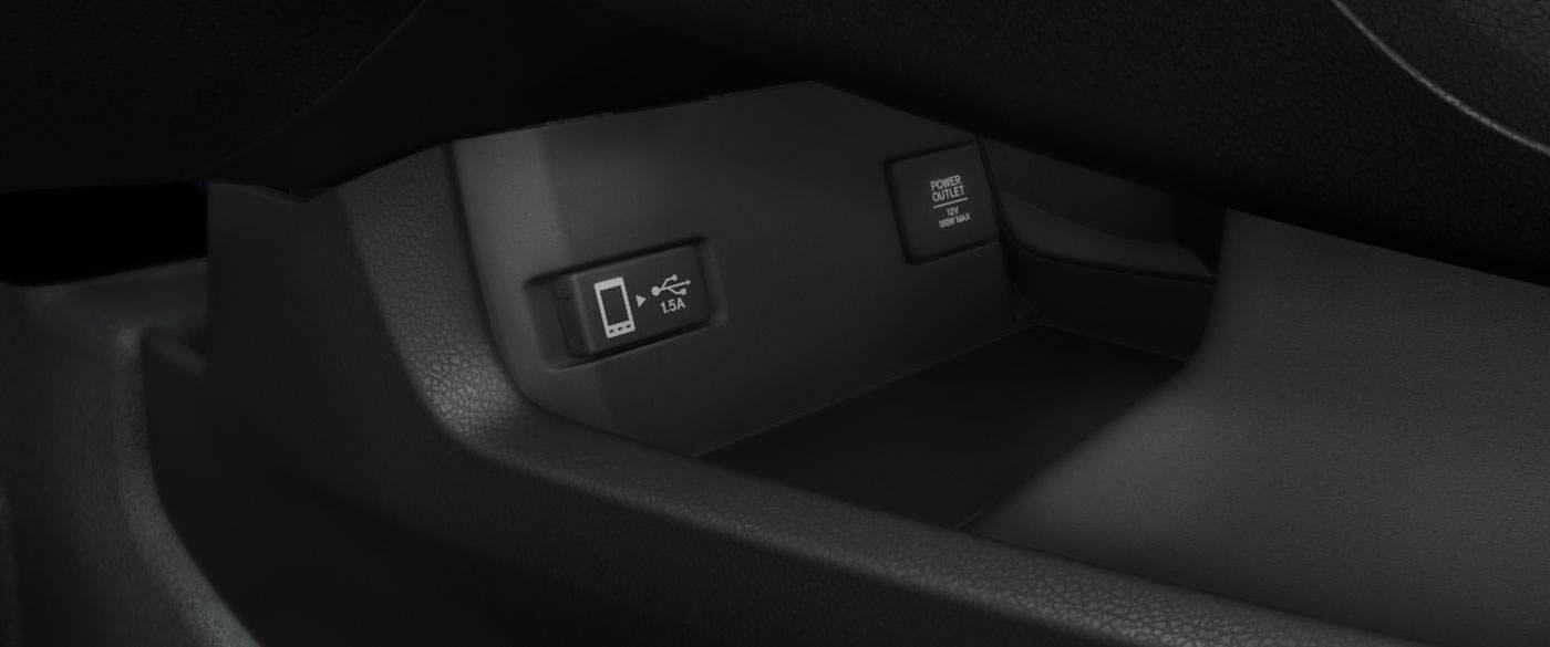 Honda Civic Charge Station