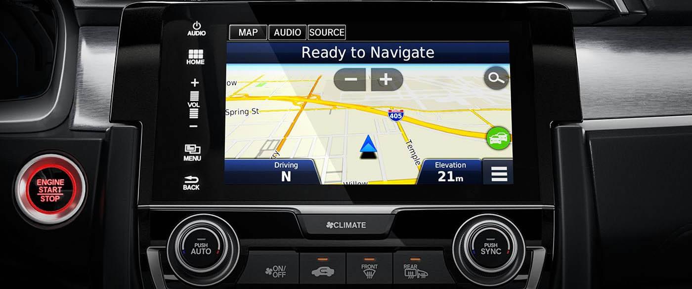 Honda Civic Navigation