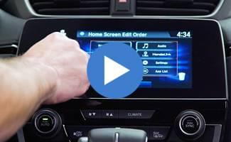 2017 Honda CR-V Display Audio Screen Video
