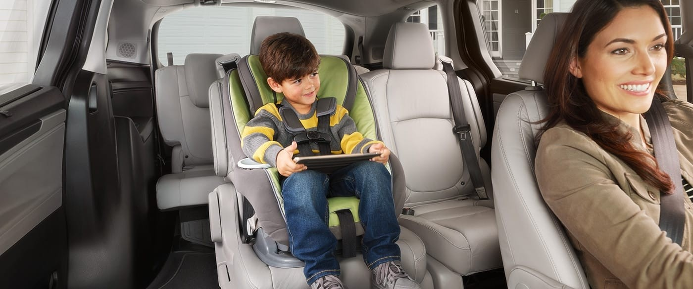 2018 Honda Odyssey Airbags