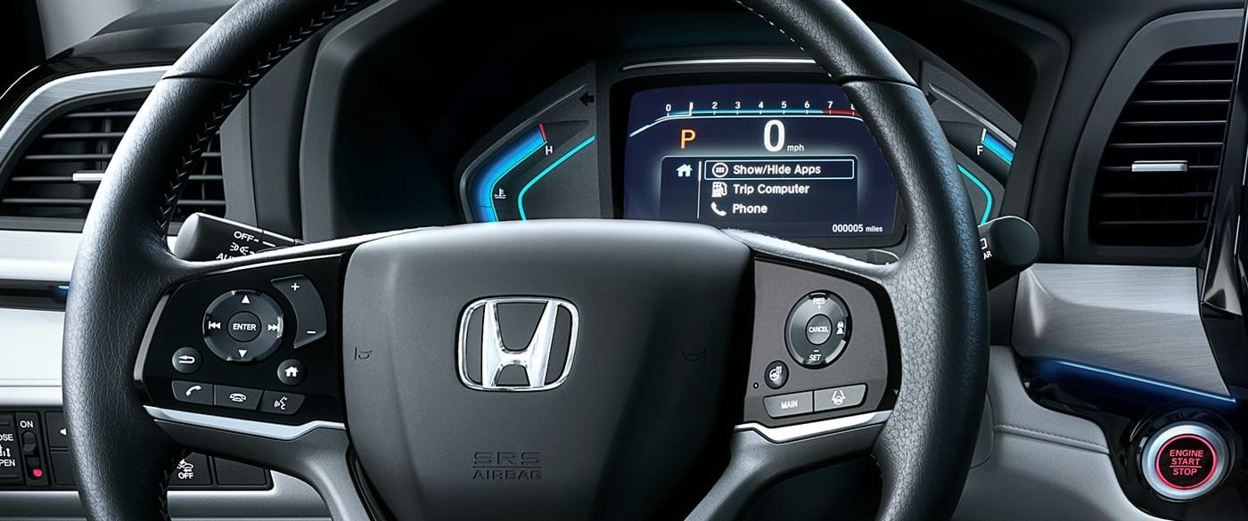 2018 Honda Odyssey Bluetooth Steering Wheel Controls