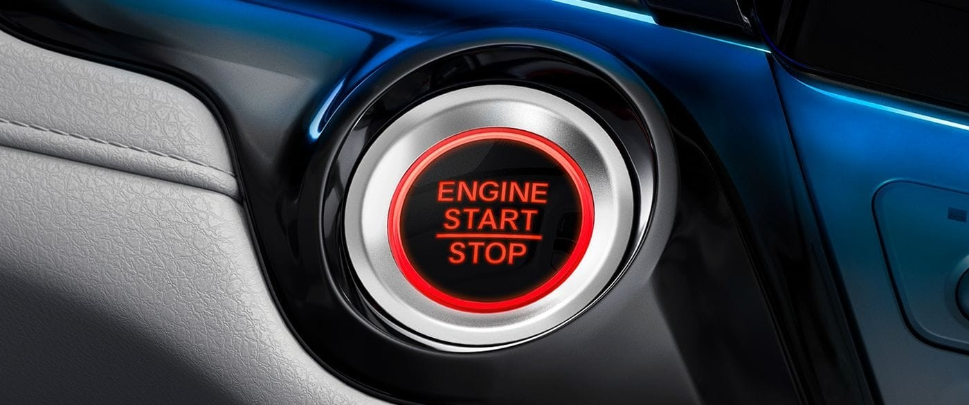 2018 Honda Odyssey Push Button Start