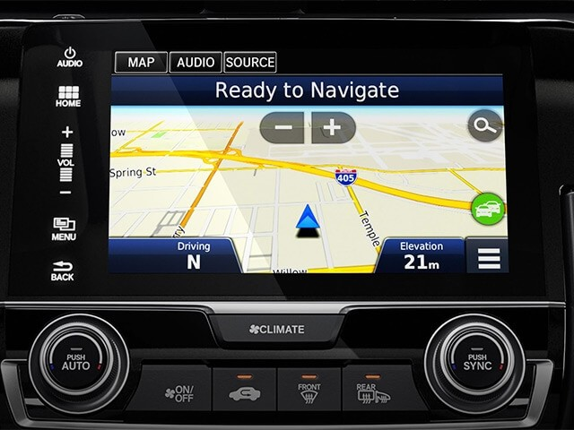 2017 Honda Civic Hatchback Navigation