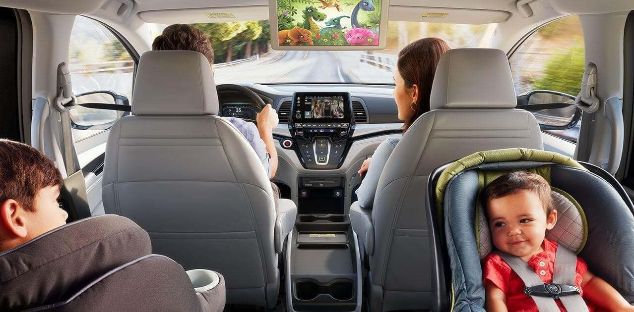 2018 Honda Odyssey Rear Cabin DVD