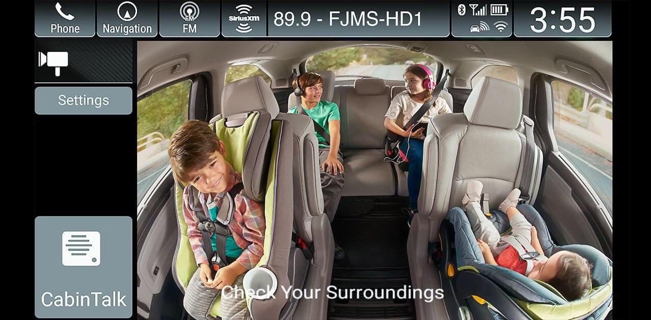2018 Honda Odyssey CabinWatch