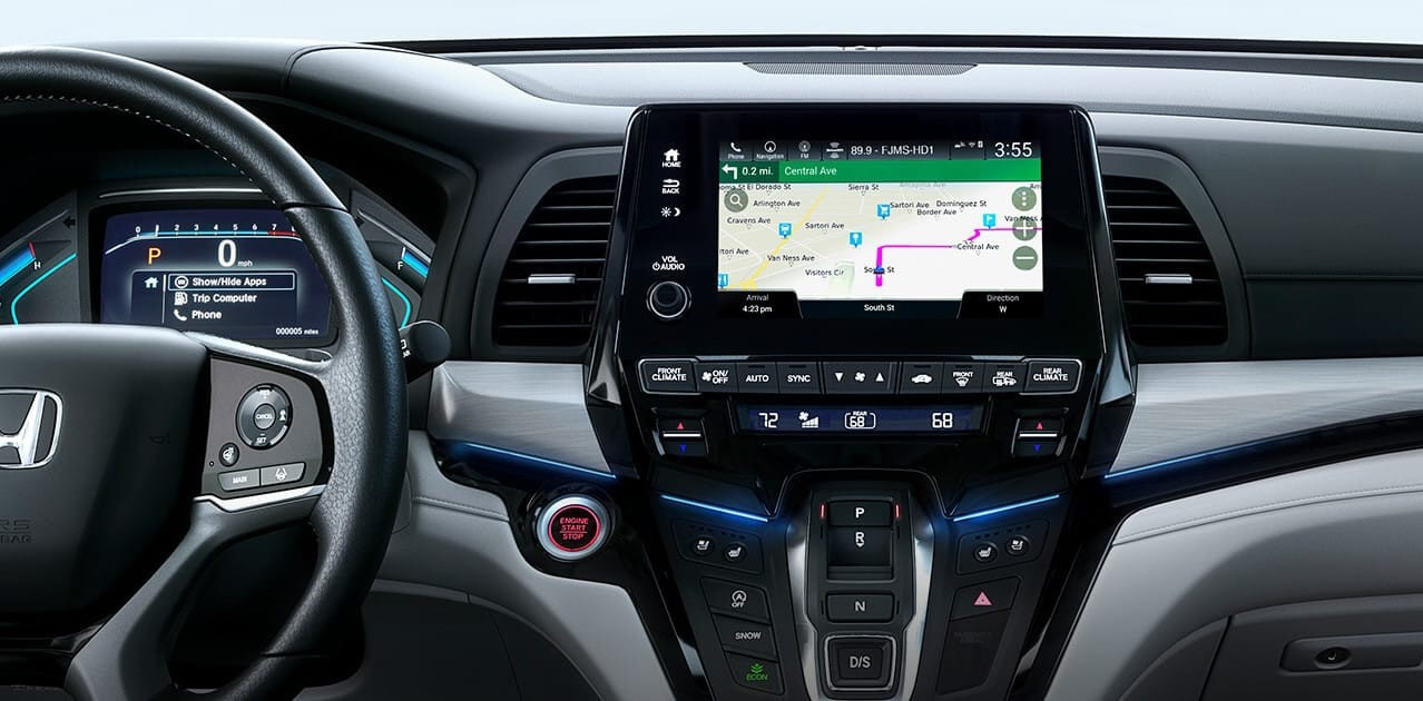 2018 Honda Odyssey Infotainment