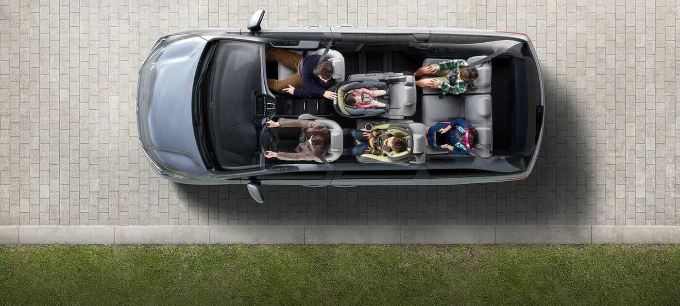 Seat Configuration in 2018 Honda Odyssey