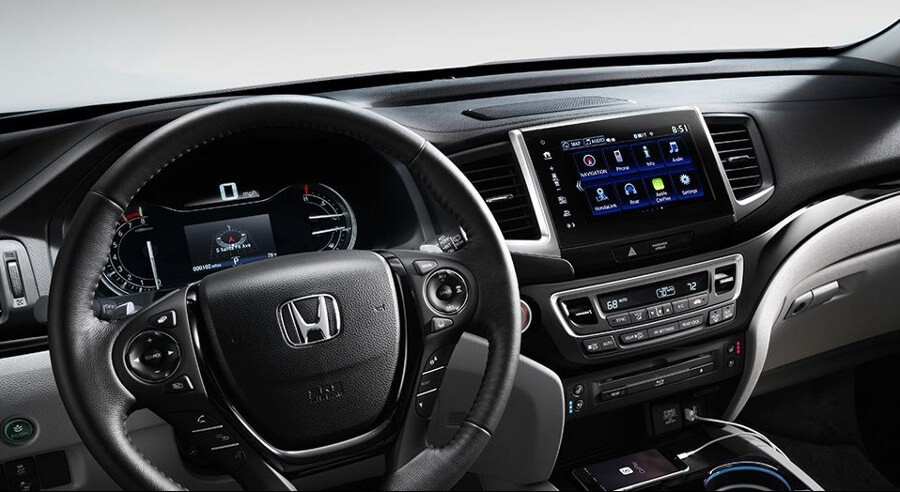 2017 Honda Pilot Interior Dashboard