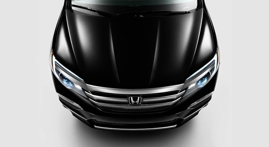 2017 Honda Pilot headlights