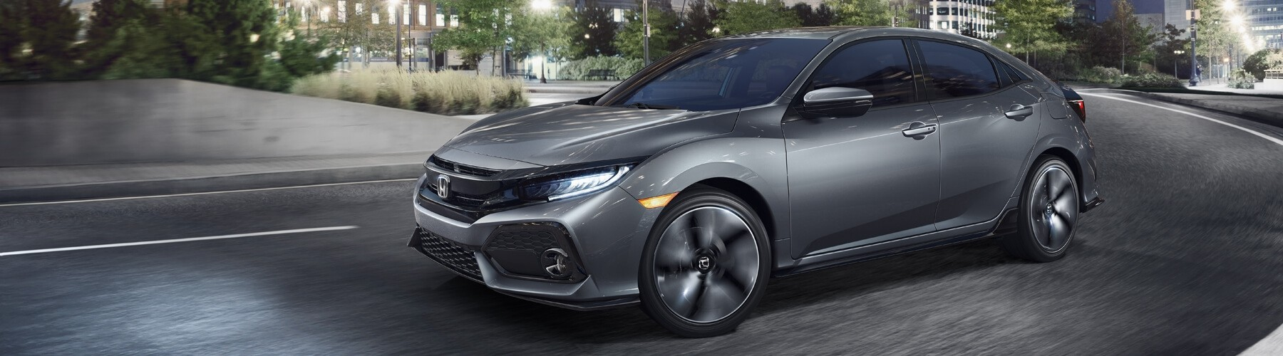 2018 Honda Civic Hatchback Banner