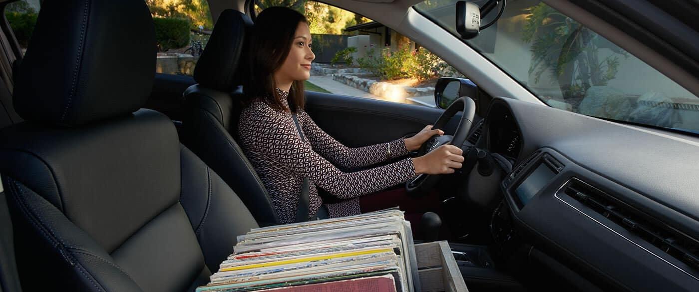 2018 Honda HR-V Interior with Driver