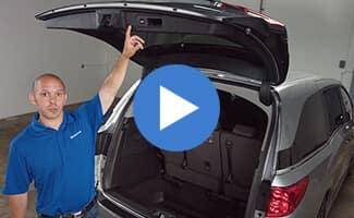 2018 Honda Odyssey Power Liftgate