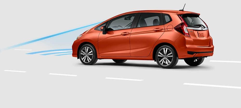 2018 Honda Fit Alert