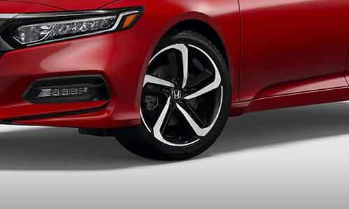 2018 Honda Accord Sport 19 inch Wheels
