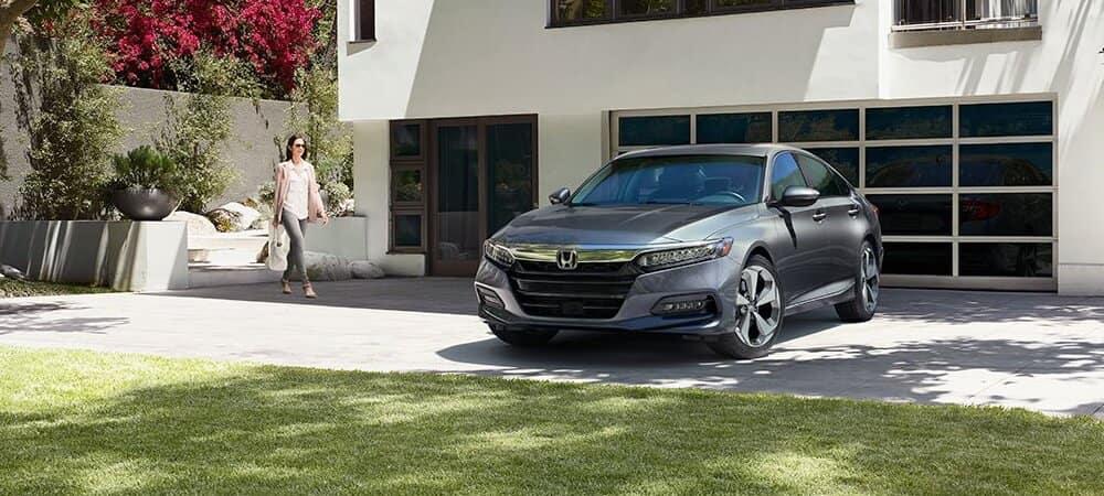 2018 Honda Accord on the driveway