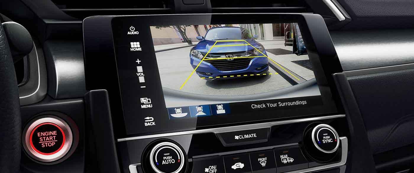 2018 Honda Civic Sedan Rearview Camera