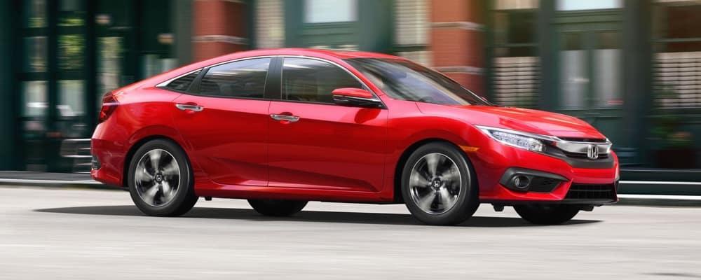 2018 Honda Civic side view