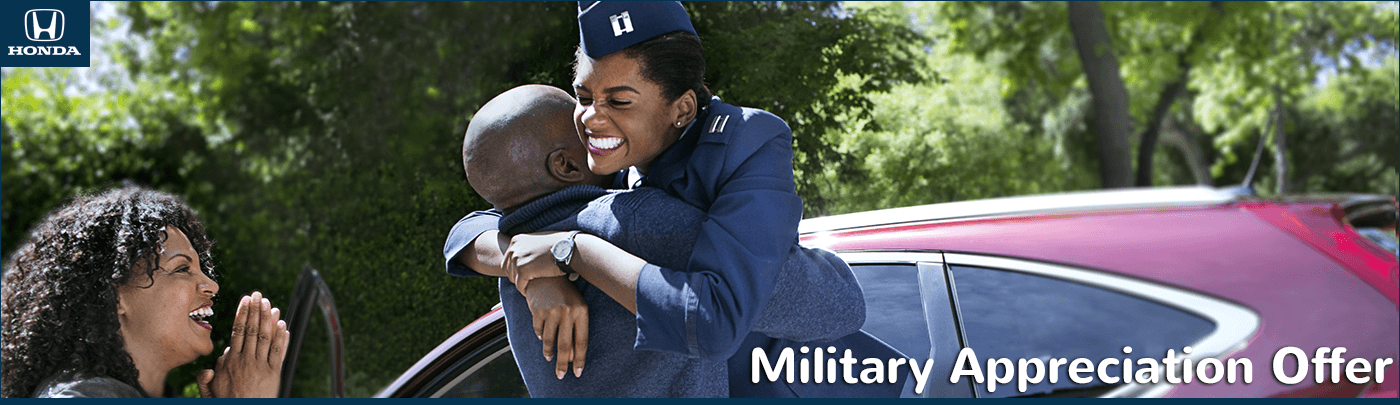 Mid-Michigan Honda Dealers Military Appreciation Offer