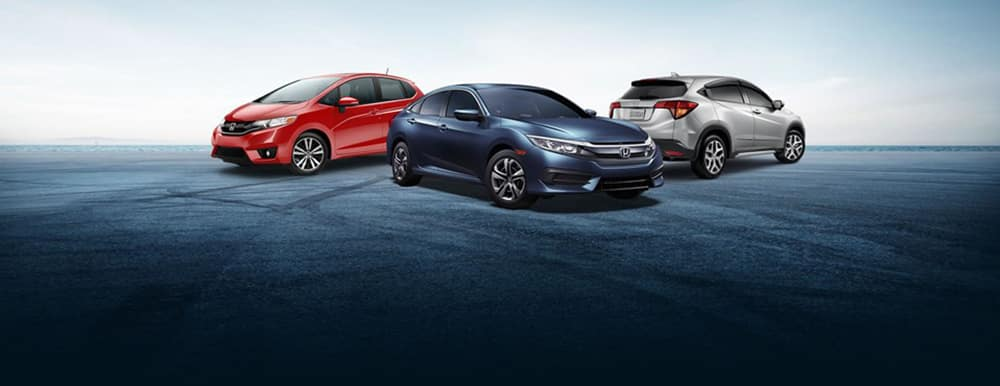 2018 Honda Trio of Vehicles
