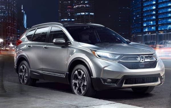 2018 Honda CR-V front exterior
