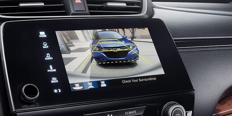Multi-Angle Rearview Camera safety feature