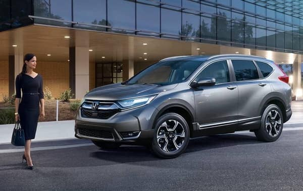 2018 Honda CR-V grey exterior