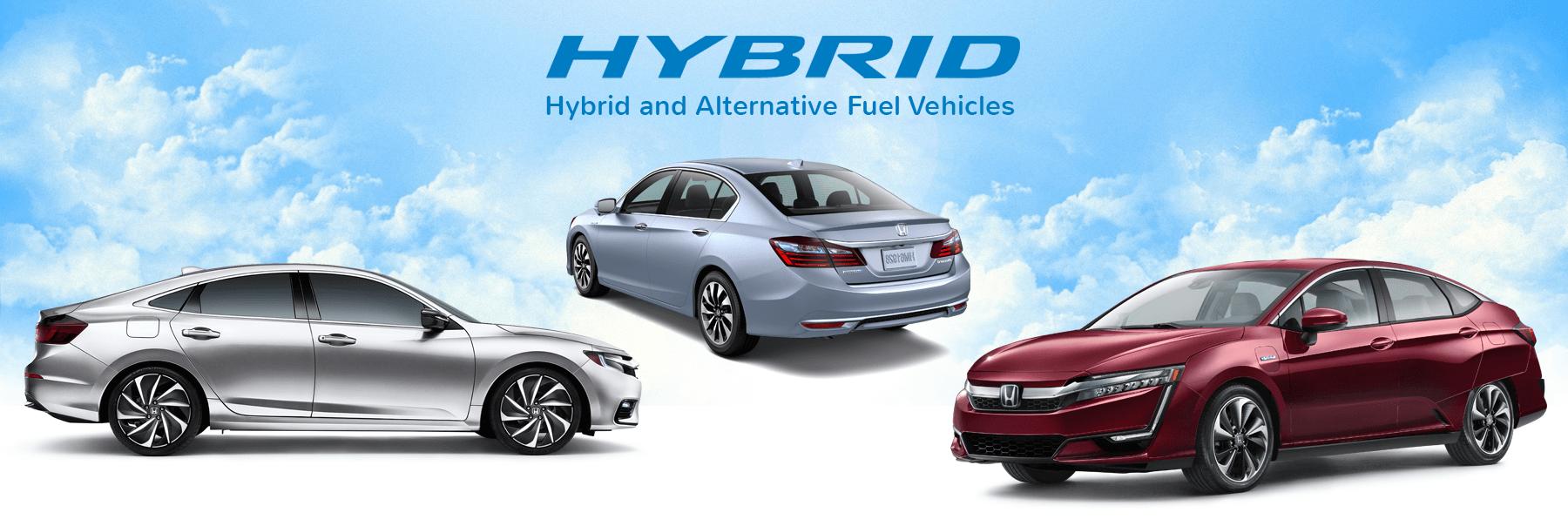 Honda Hybrids and Alternative Fuel Vehicles
