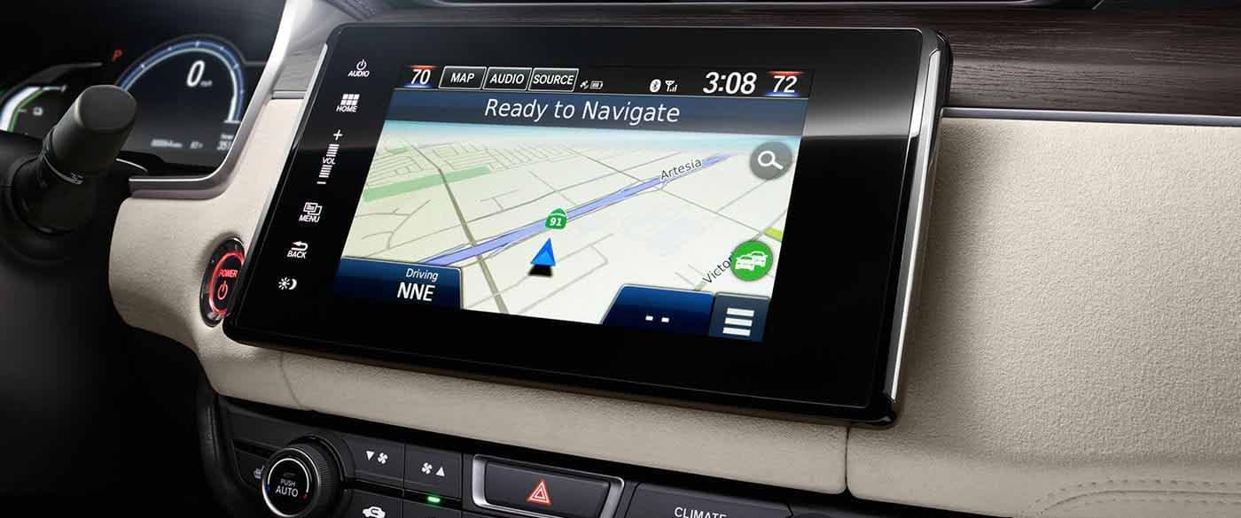 2018 Honda Clarity Plug In Hybrid Navigation System