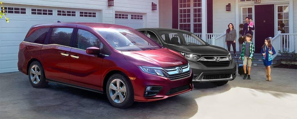2018 Honda Odyssey and CR-V