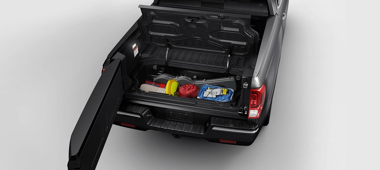 2019 Honda Ridgeline AWD Exterior Dual-Action Tailgate